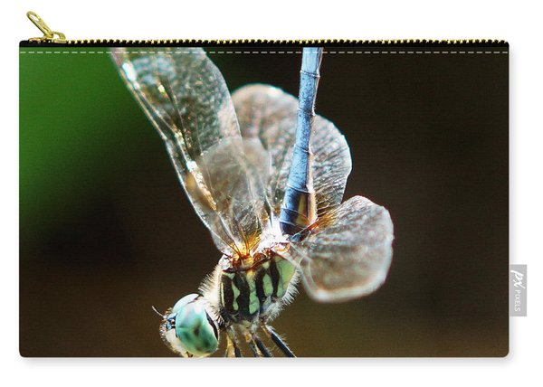 Dragonfly Headstand Carry-all Pouch