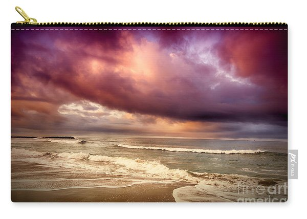 Dramatic Beach Carry-all Pouch