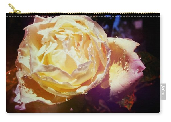 Dramatic Rose Carry-all Pouch