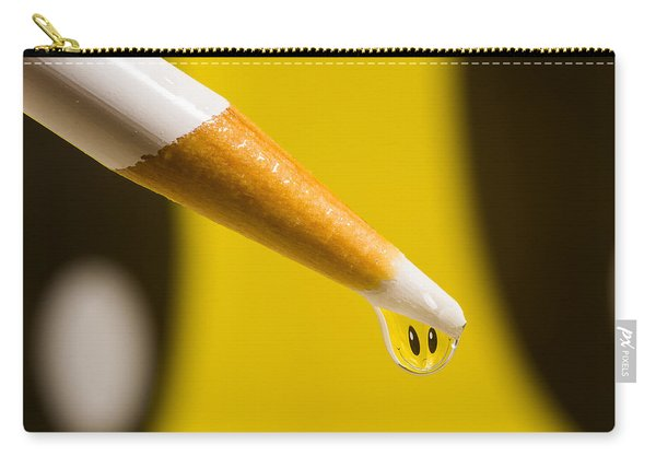 Happy Water Drop Pencil Carry-all Pouch