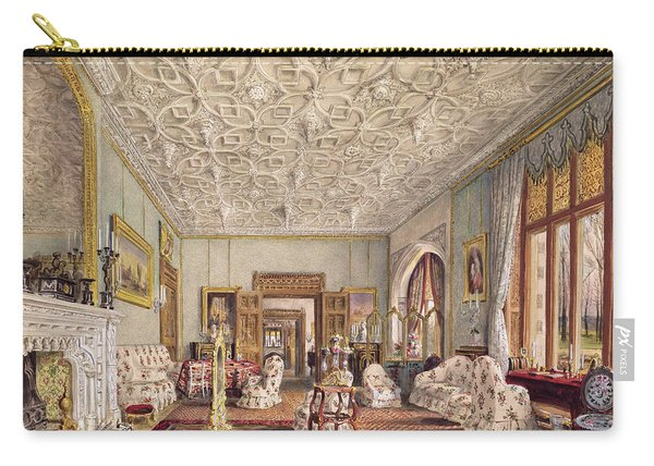 Drawing Room In The Gothic Style, C.1850 Carry-all Pouch