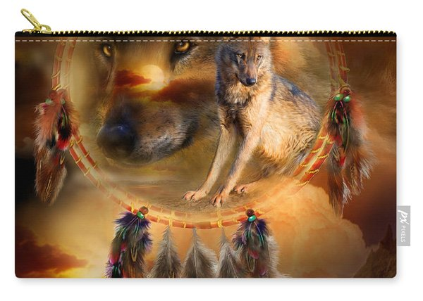Dream Catcher - Wolfland Carry-all Pouch