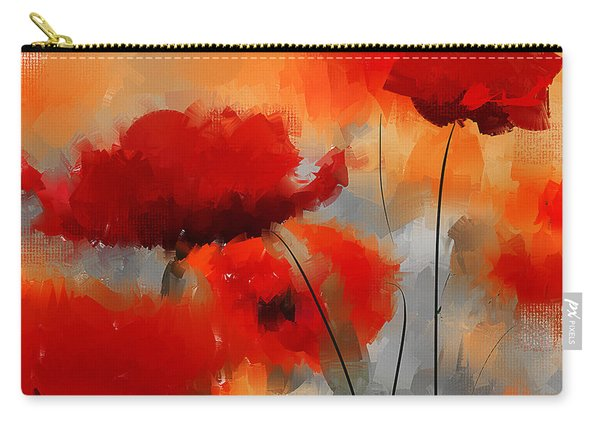 Dream Of Poppies Carry-all Pouch