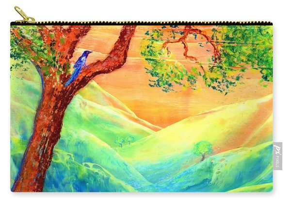 Dreaming Of Bluebells Carry-all Pouch