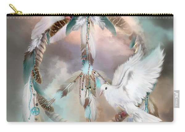 Dreams Of Peace Carry-all Pouch