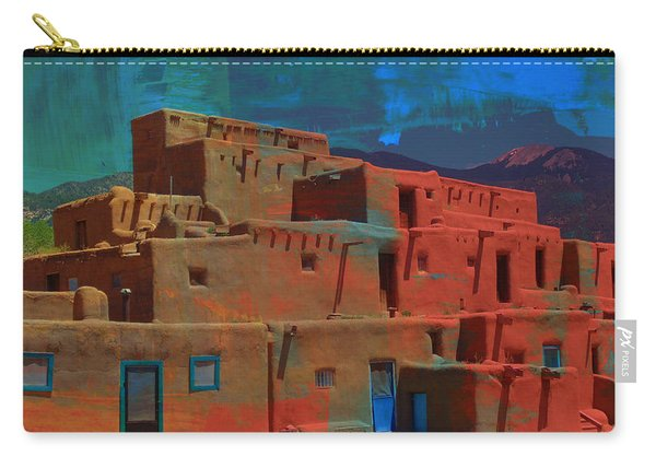 Dreams Of Taos Carry-all Pouch