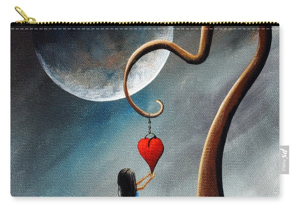 Dreamy Surreal Original Landscape Painting  Carry-all Pouch