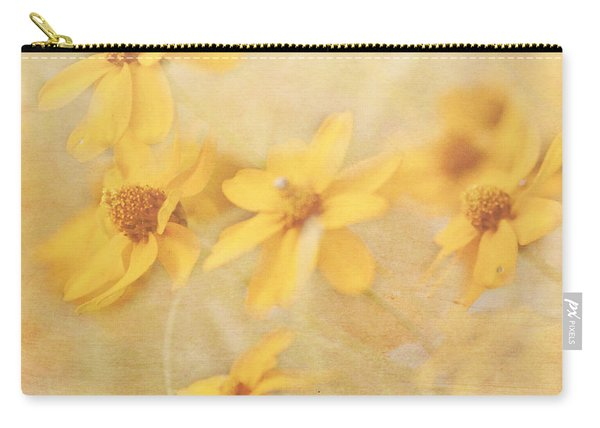 Dreamy Yellow Coreopsis Carry-all Pouch