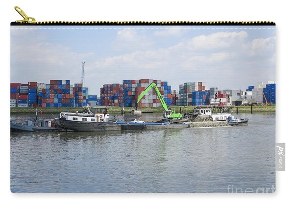 Dredger In The Port Of Rotterdam  Carry-all Pouch
