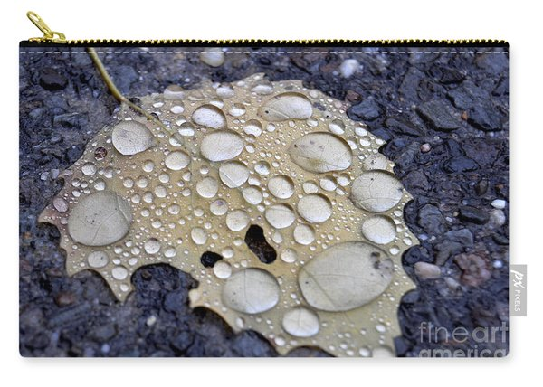 Drenched Leaf Carry-all Pouch