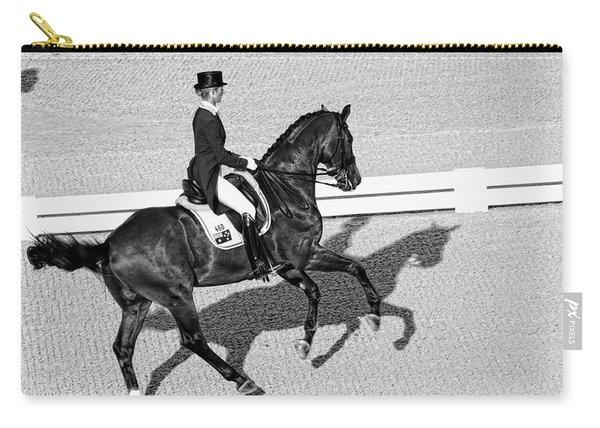 Dressage Une Noir Carry-all Pouch