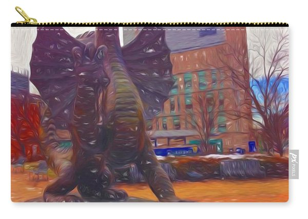 Drexel Dragon Colored Carry-all Pouch