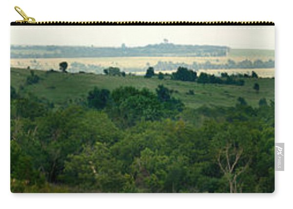 Drive The Flint Hills Carry-all Pouch