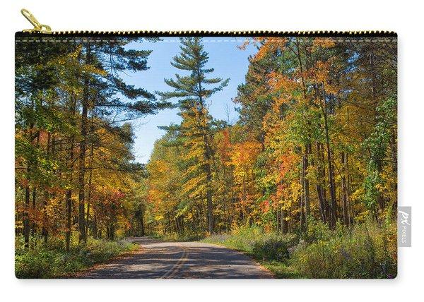 Drive Through Splendor In Minnesota Carry-all Pouch
