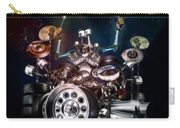 Drum Machine - The Band's Engine Carry-all Pouch