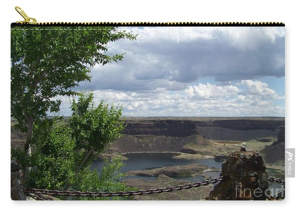 Dry Falls Overlook Carry-all Pouch