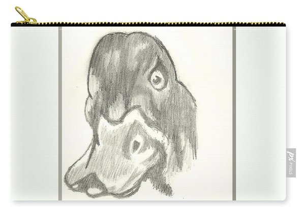 Duck Bill In Pencil Carry-all Pouch