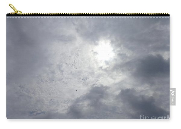 Duck In Beautiful Sky Carry-all Pouch