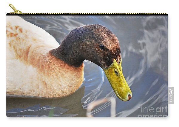 Duck With Greenish-yellow Bill Carry-all Pouch