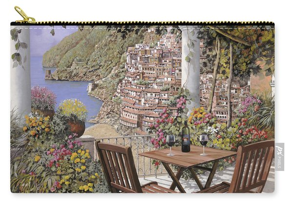 due bicchieri a Positano Carry-all Pouch