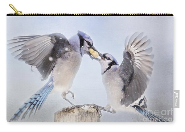 Dueling Jays Carry-all Pouch