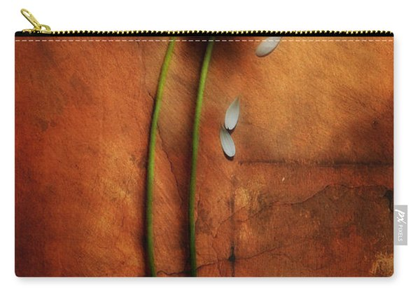 Carry-all Pouch featuring the photograph Duet by Jaroslaw Blaminsky