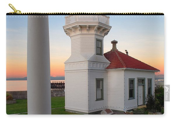 Dusk At Mukilteo Lighhouse Carry-all Pouch