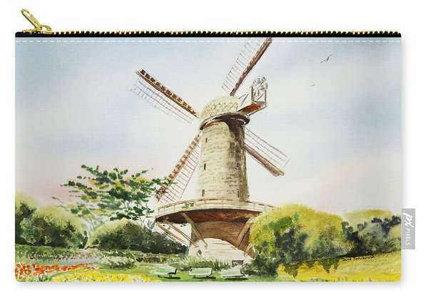 Dutch Windmill In San Francisco  Carry-all Pouch