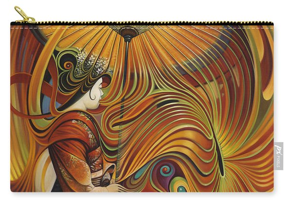 Dynamic Oriental Carry-all Pouch