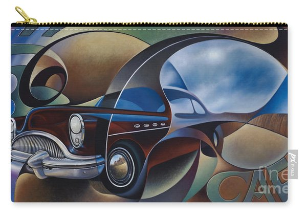 Dynamic Route 66 Carry-all Pouch