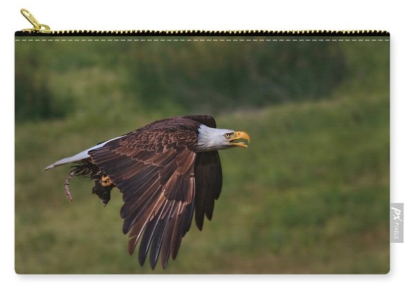 Eagle With Prey Carry-all Pouch