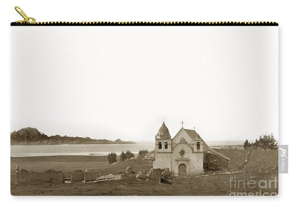 Early Carmel Mission And Point Lobos California Circa 1884 Carry-all Pouch