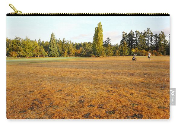 Early Fall Morning In The Rough On The Golf Course Carry-all Pouch