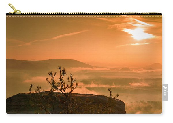 Early Morning On The Lilienstein Carry-all Pouch