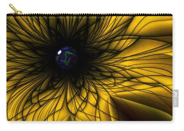 Earth Flower Carry-all Pouch