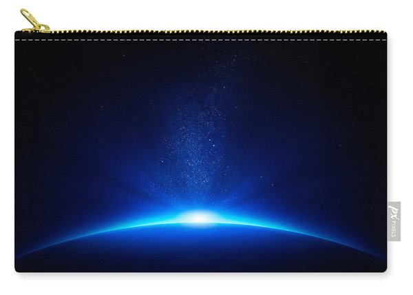 Earth Sunrise In Space Carry-all Pouch