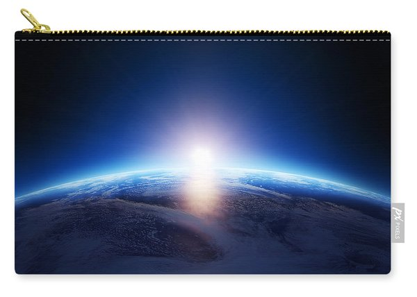 Earth Sunrise Over Cloudy Ocean  Carry-all Pouch