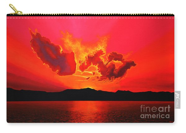 Earth Sunset Carry-all Pouch