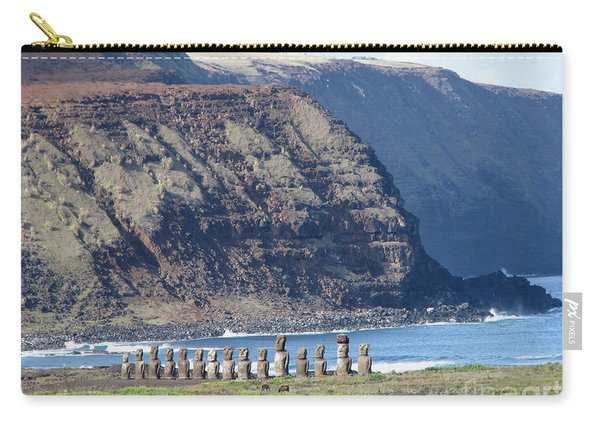 Easter Island Requiem Carry-all Pouch