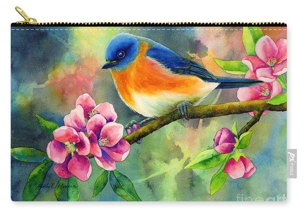 Eastern Bluebird Carry-all Pouch