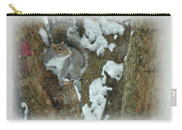 Eastern Gray Squirrel - Sciurus Carolinensis Carry-all Pouch