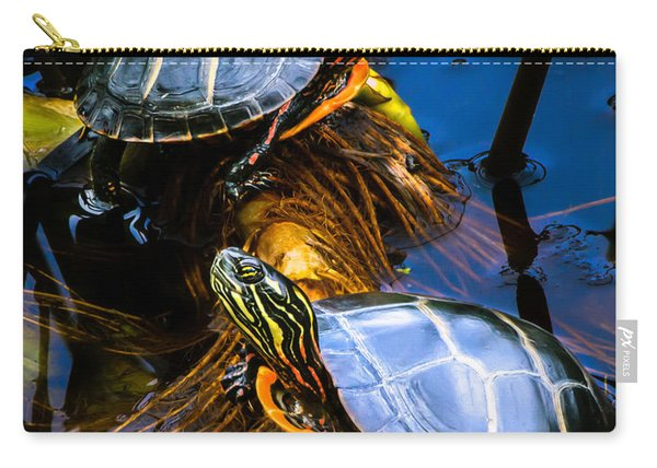 Eastern Painted Turtles Carry-all Pouch
