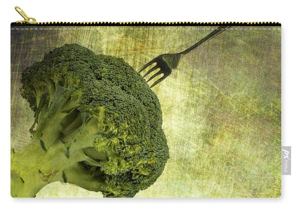 Eat Your Broccoli Carry-all Pouch