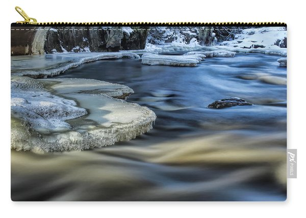 Eau Claire River Ice Carry-all Pouch