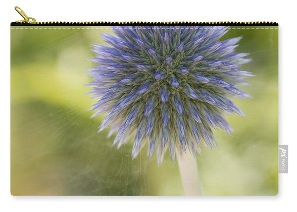 Echinops Blue Carry-all Pouch