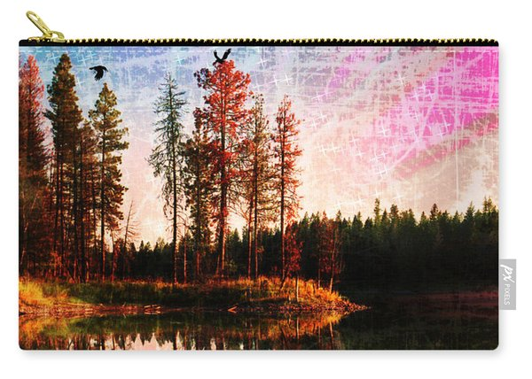 Echo Lake In Montana Carry-all Pouch