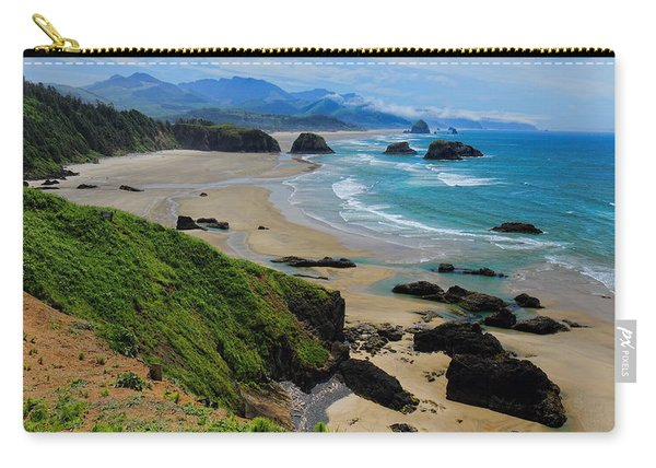 Ecola State Park Beach Carry-all Pouch