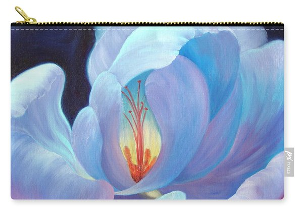 Carry-all Pouch featuring the painting Ecstasy by Sandi Whetzel