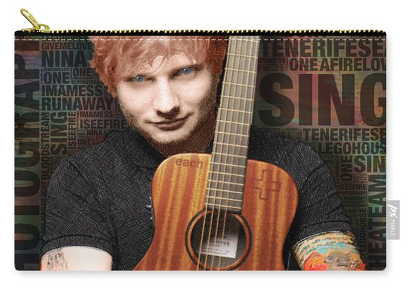 Ed Sheeran And Song Titles Carry-all Pouch