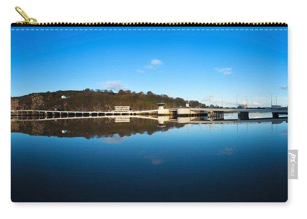 Edmund Rice Bridge Across A River Carry-all Pouch
